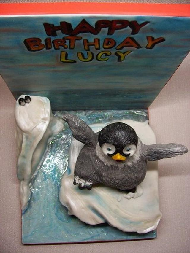 Mumbles The Dancing Penguin