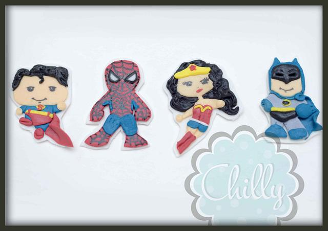 superheroes 2d topper