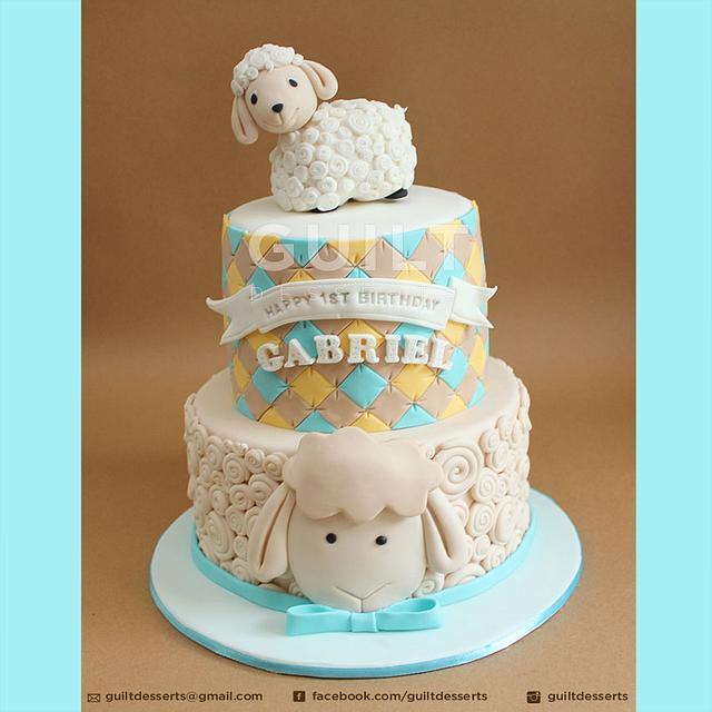Prime Sheep Birthday Cake Cake By Guilt Desserts Cakesdecor Funny Birthday Cards Online Benoljebrpdamsfinfo