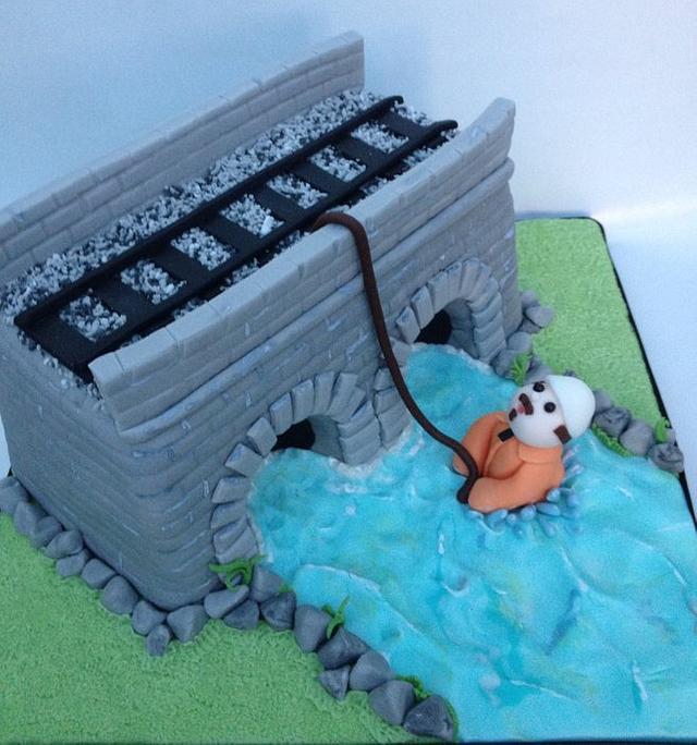 Bridge cake for my husband
