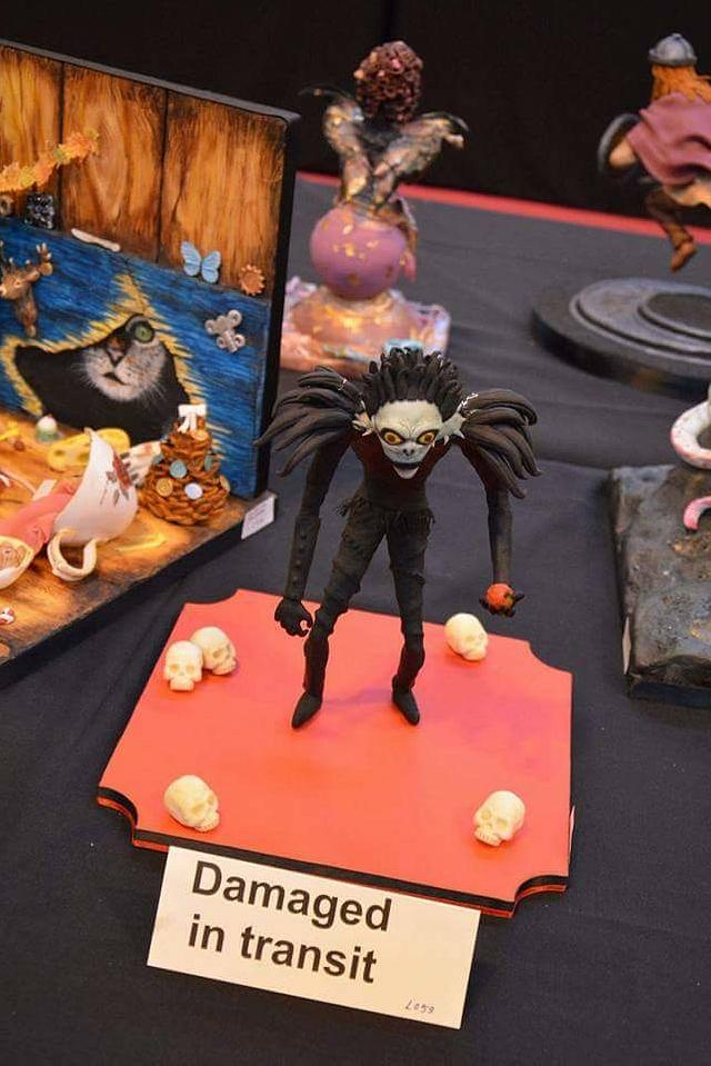 Ryuk Deathnote #BronzeAward #CakeInternation2016