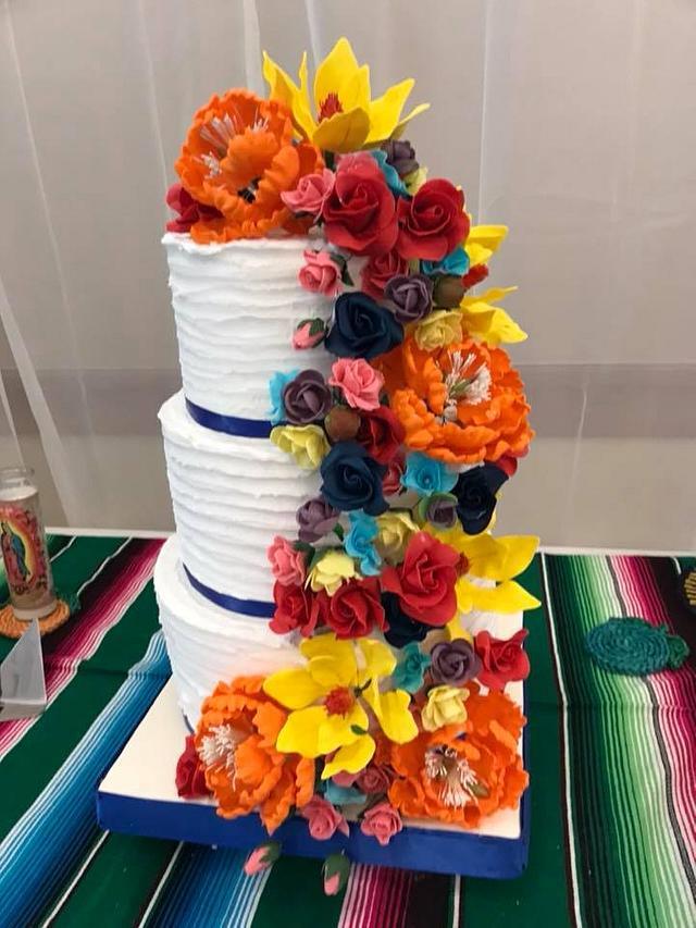 Quincenearas Cake