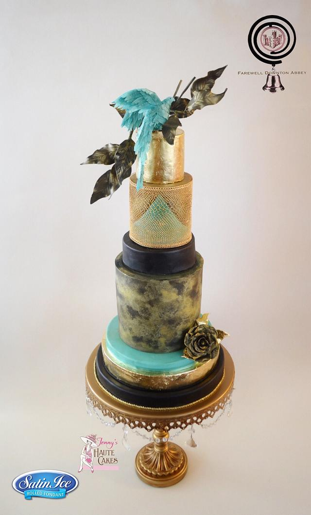 Farewell Downton Abbey Cake Collaboration - Lady Mary