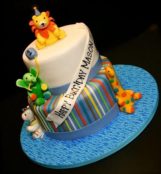 Zoo Animal 1st Birthday