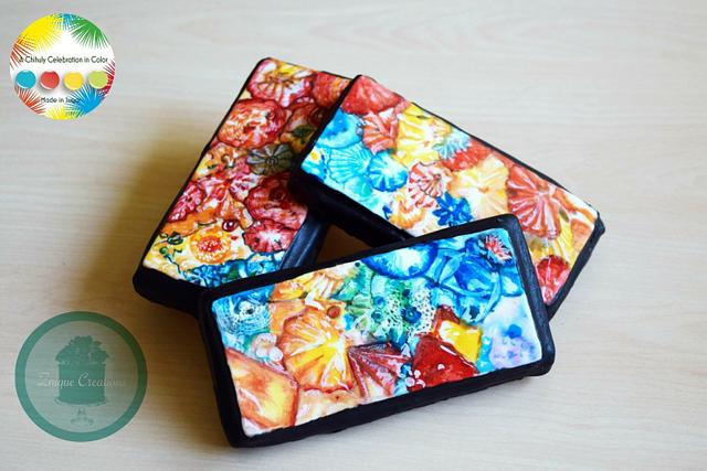 Chihuly Collaboration Cookies