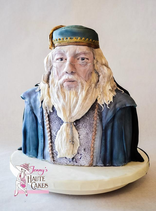 Dumbledore and Voldemort Heroes and Villains Collaboration Cake