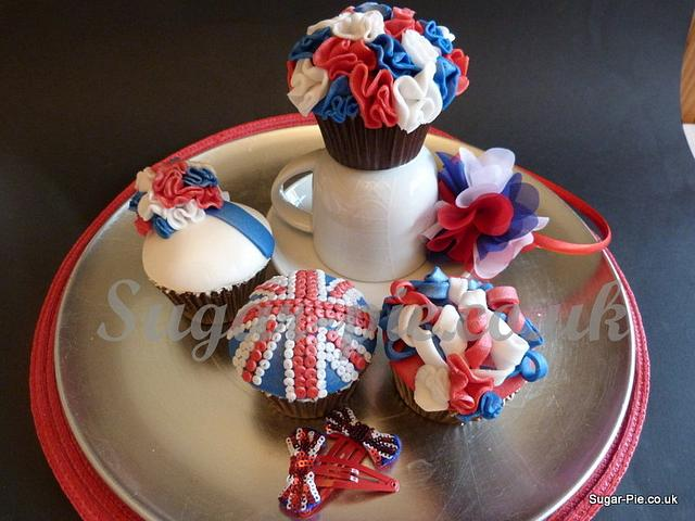 Rule Britannia Cupcake Collection