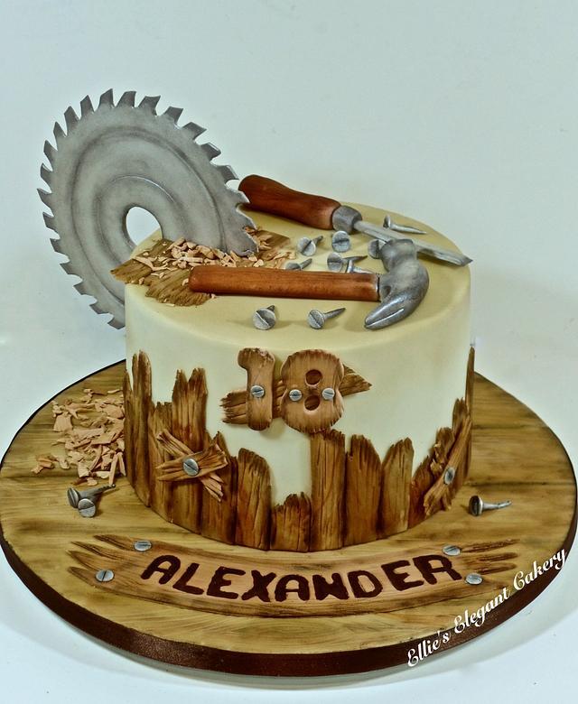 Classic carpenters cake