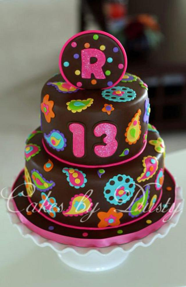 Remmington's Paisley Cake