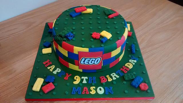 Lego cake x