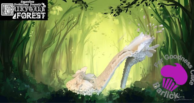 Fairytale shoe... Cinderella made by the elves and the shoemaker ;)