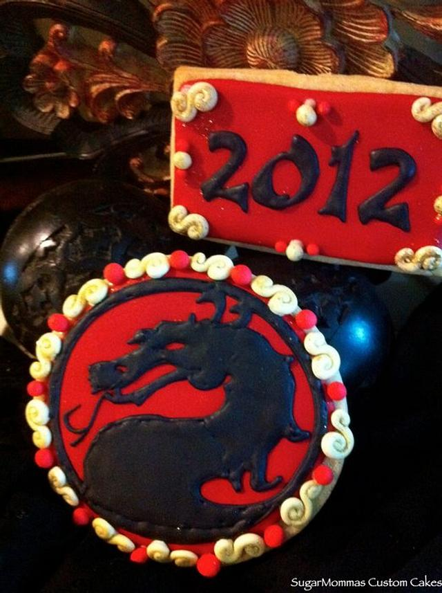 Year of the Dragon Cookies