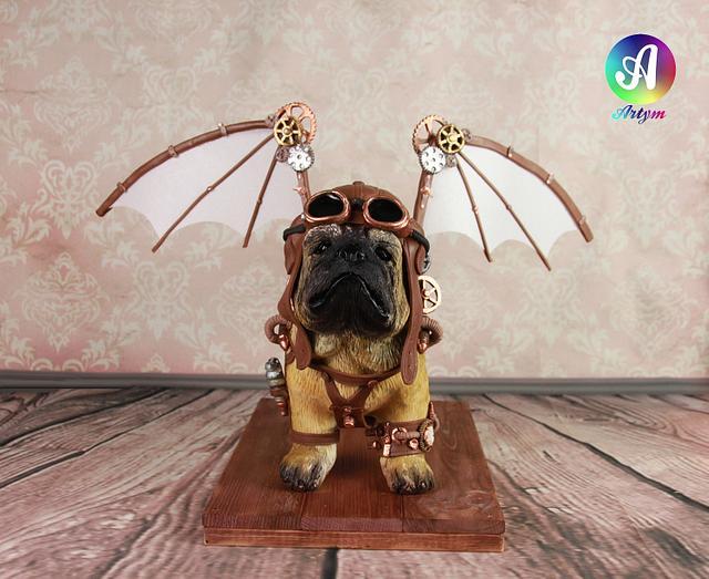 Puppy Pug Aviator
