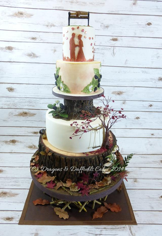 Cake International 2014 Woodland Wedding
