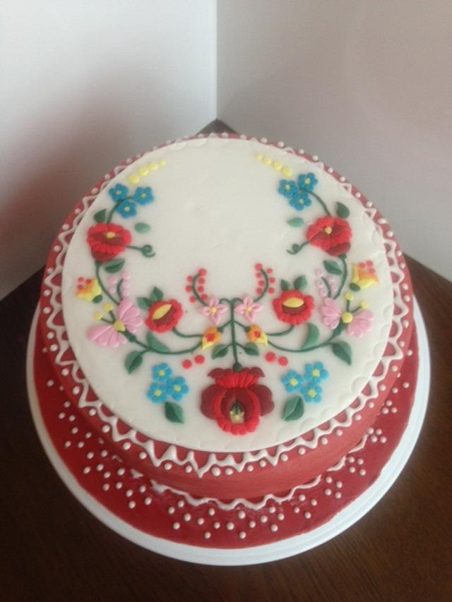 Folkstyle cake