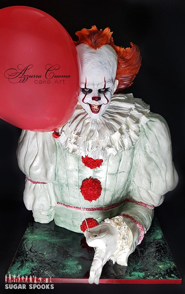 """""""Pennywise, The Dancing Clown"""" for Sugar Spooks v.5 collaboration"""
