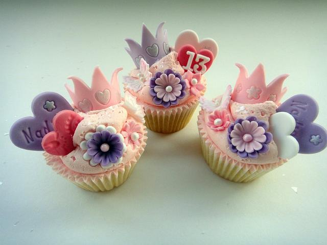 Truly Madly Princess Cupcakes