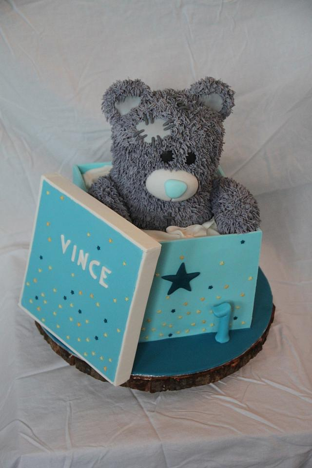 Me-to-You bear in box