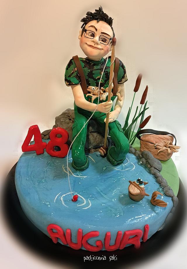 Fishman cake