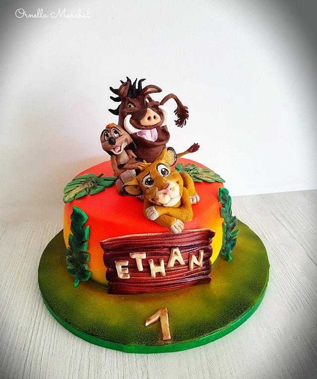 The lion king cake 🦁