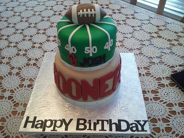 OU Sooners Birthday Cake