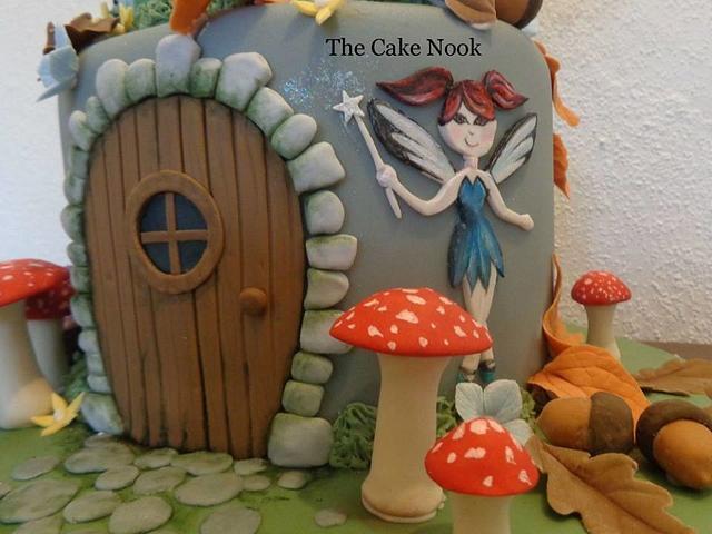 Fairy Door Cake.