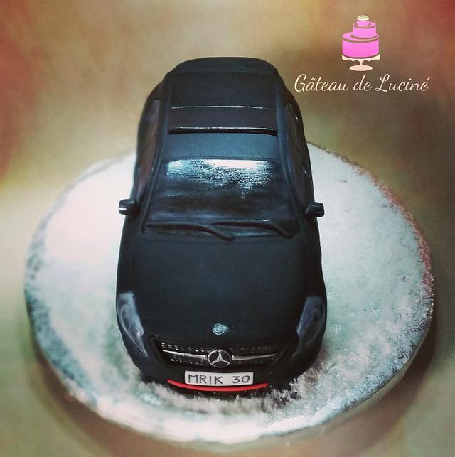 Mercedes-Benz 3D cake