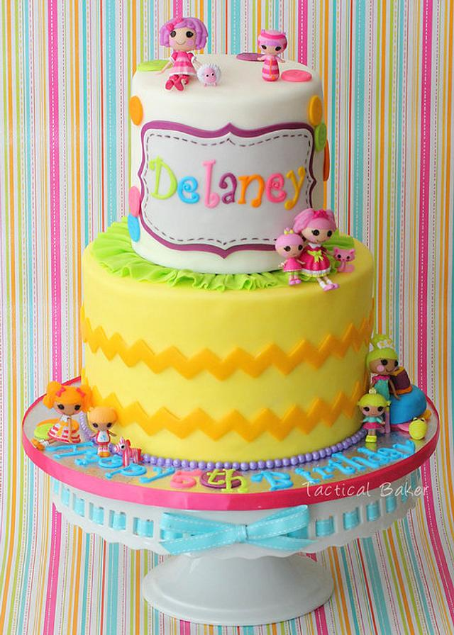 Groovy Lalaloopsy Birthday Cake By Cece Cakesdecor Personalised Birthday Cards Rectzonderlifede