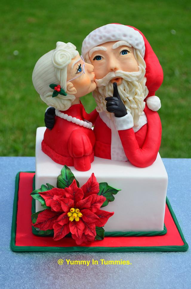 CPC Red & Green Collaboration : Mr. and Mrs. Clause.