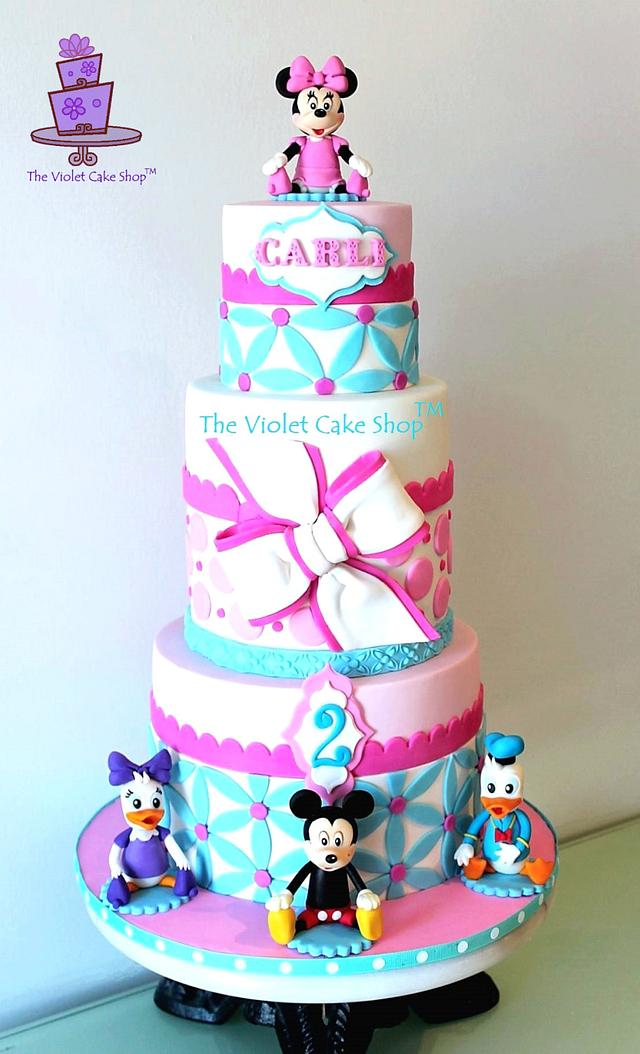 Excellent Mickey Minnie Friends Cake For My Daughters 2Nd Cakesdecor Funny Birthday Cards Online Overcheapnameinfo