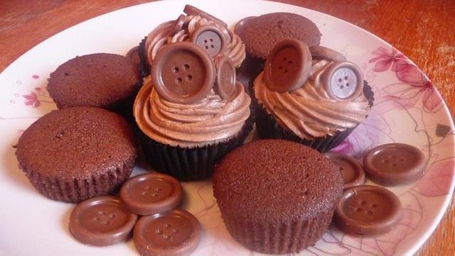My Chocolate Button cupcakes