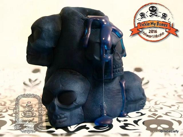 Tickle My Bones collaboration (Skully Candle)