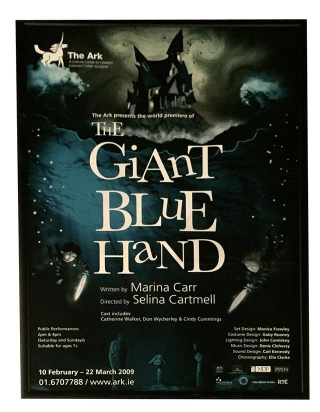The Giant Blue Hand