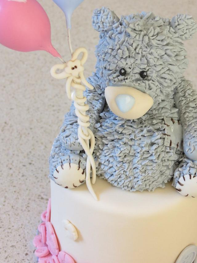 Tatty Teddy Cake for Twins