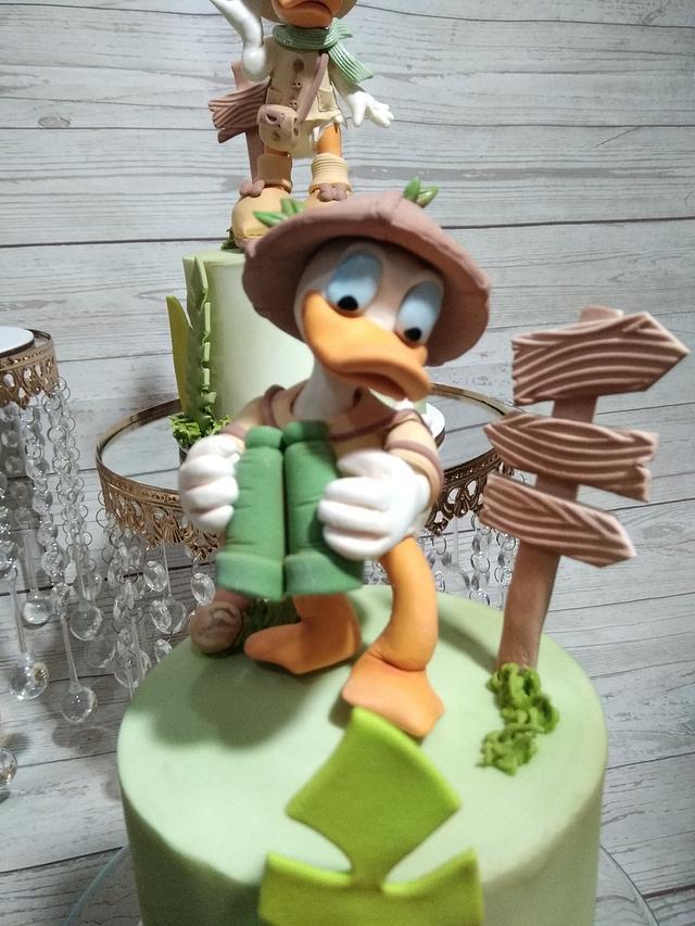 Donald en un Safari