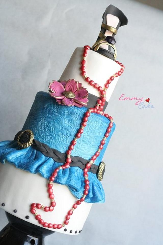 fashion cake for cake central