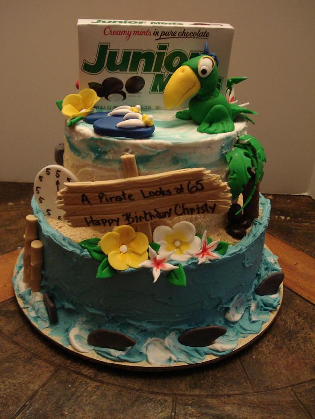 Pleasant Jimmy Buffett Birthday Cake Cake By Chris Jones Cakesdecor Funny Birthday Cards Online Eattedamsfinfo