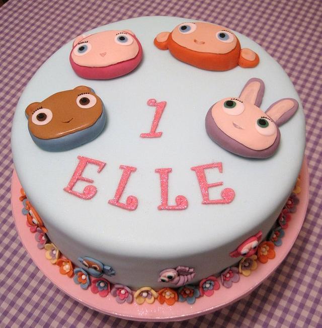 Waybuloo first birthday cake