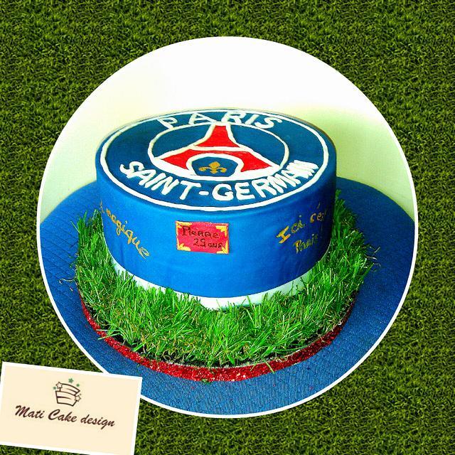 Psg Cake Cake By Mati Cake Design Cakesdecor