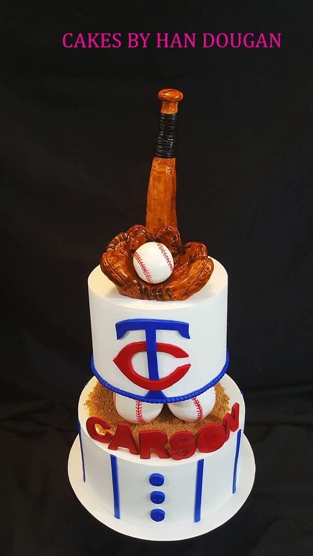 Super Baseball Birthday Cake Cake By Han Dougan Cakesdecor Funny Birthday Cards Online Fluifree Goldxyz