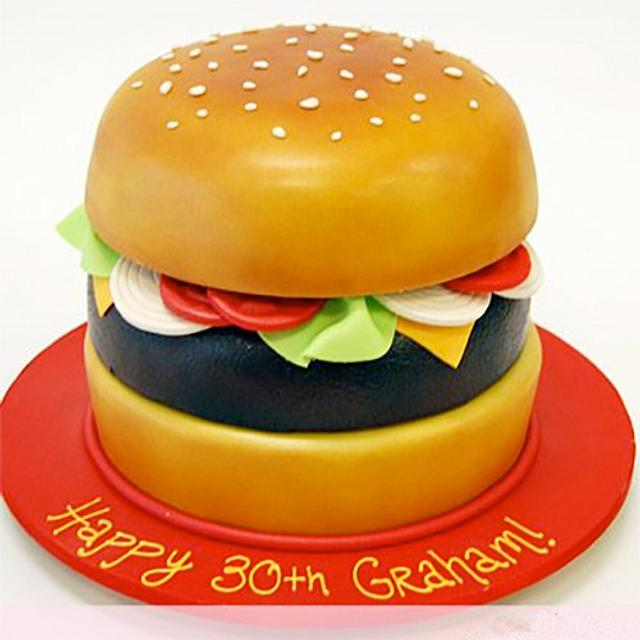 Burger Cake for Burger Lovers