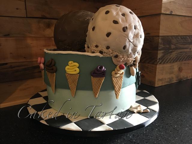 Ice cream tub