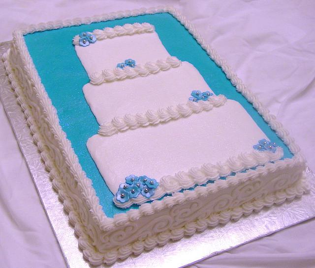 Wedding Cake Bridal Shower