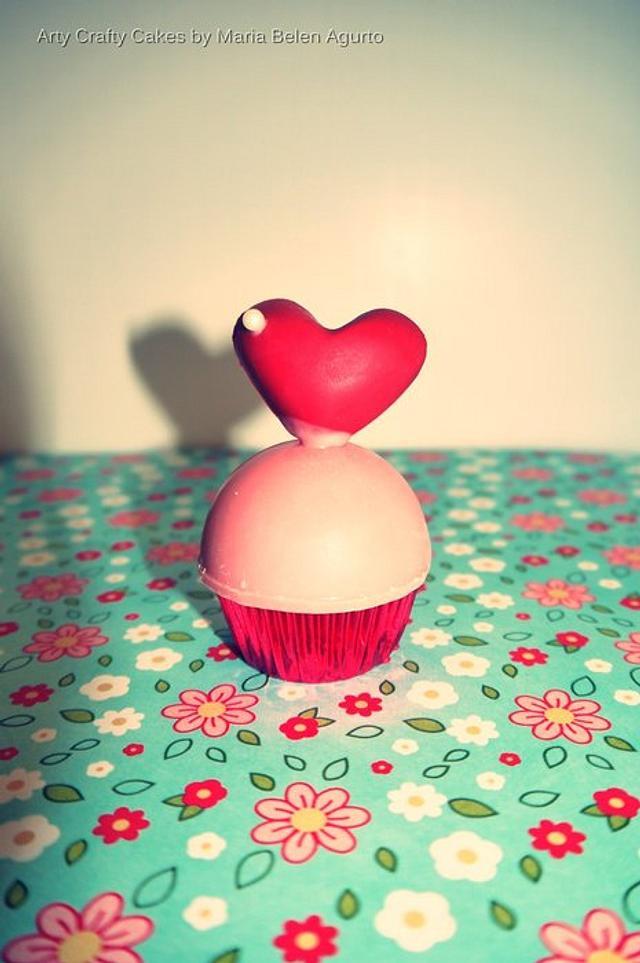 Valentines inspired Mini Cupcakes
