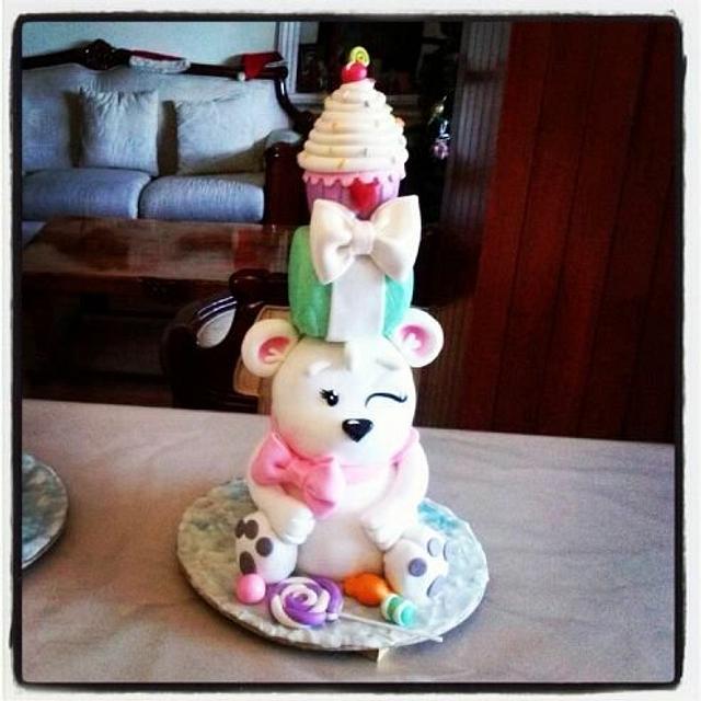 TOWER CAKE SWEET BIRTHDAY