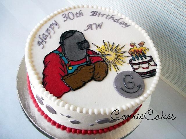 A welder's birthday