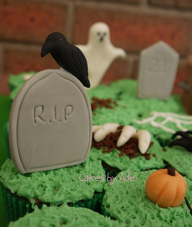 Cemetery birthday - October 2012