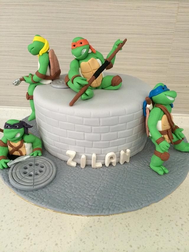 Teenage Mutant Ninja Turtle, Cake