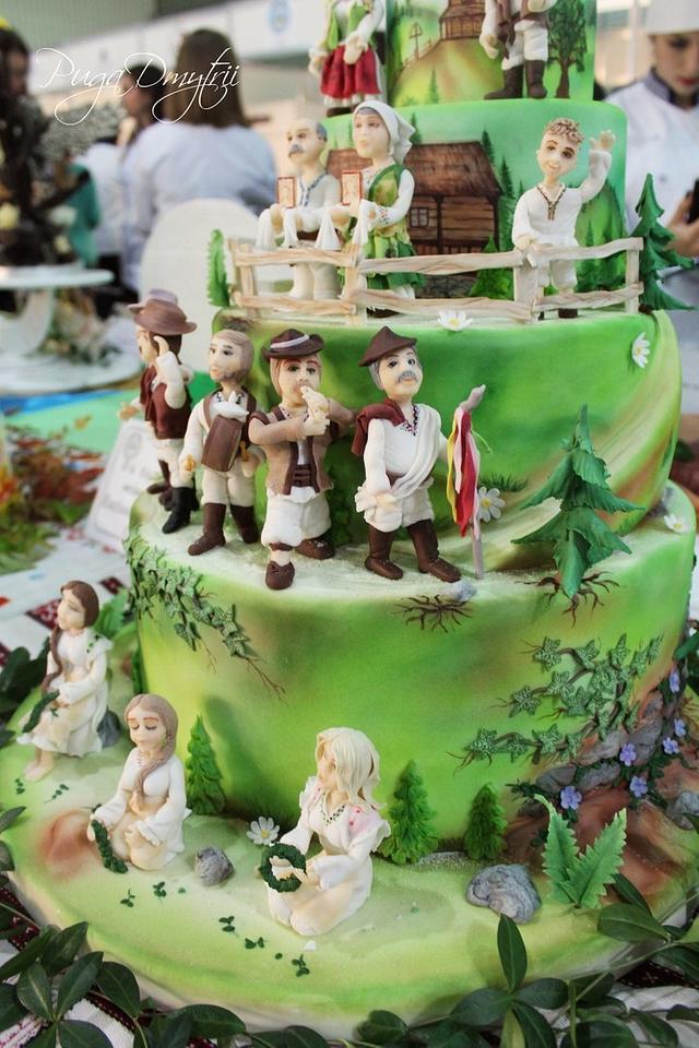 Carpathian wedding