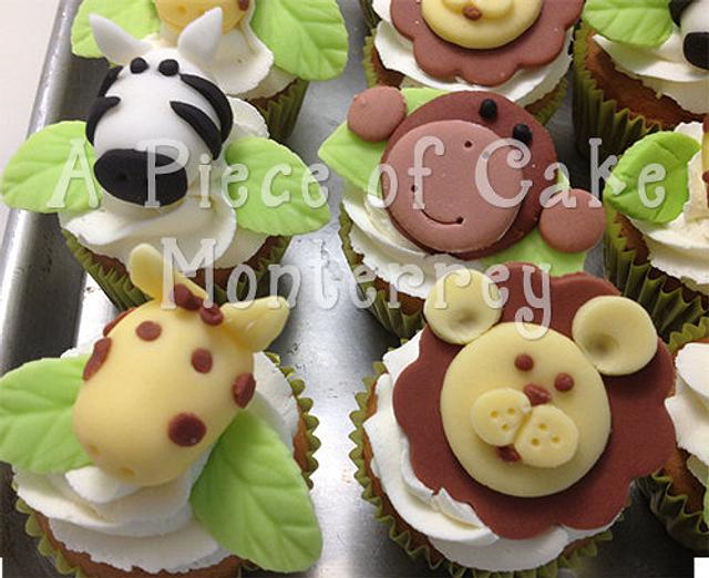 The Jungle Cupcakes
